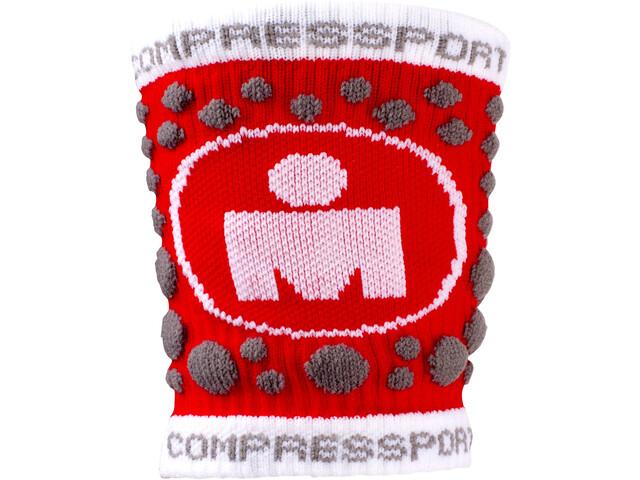 Compressport 3D Dots Sweatband Ironman Edition Red
